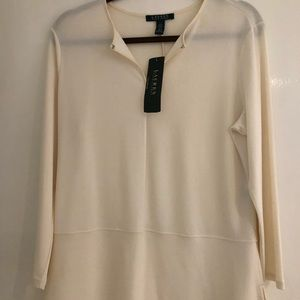 New with tags Lauren by Ralph Lauren Tunic Top